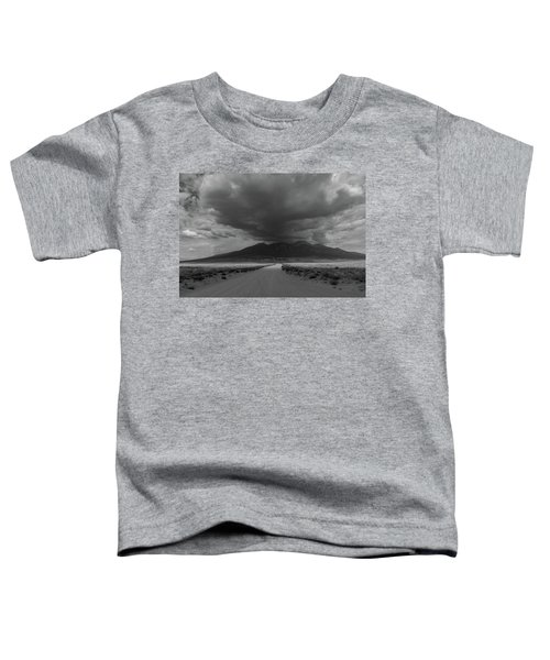 Storm Over Blanca Peak Toddler T-Shirt