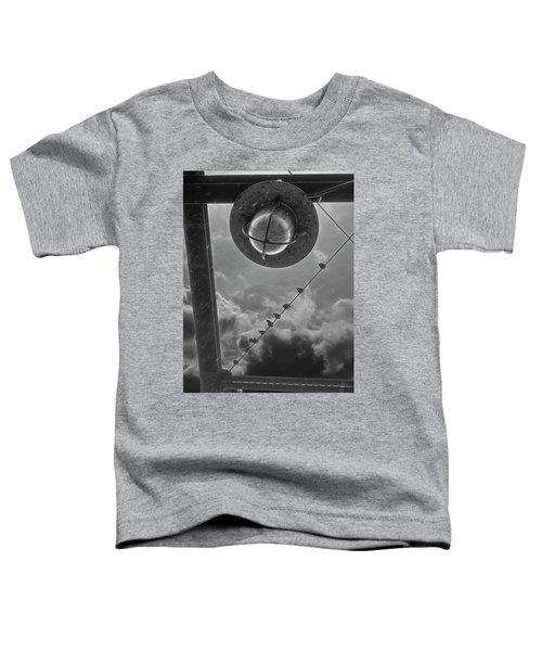Storm Over The Bridge Toddler T-Shirt