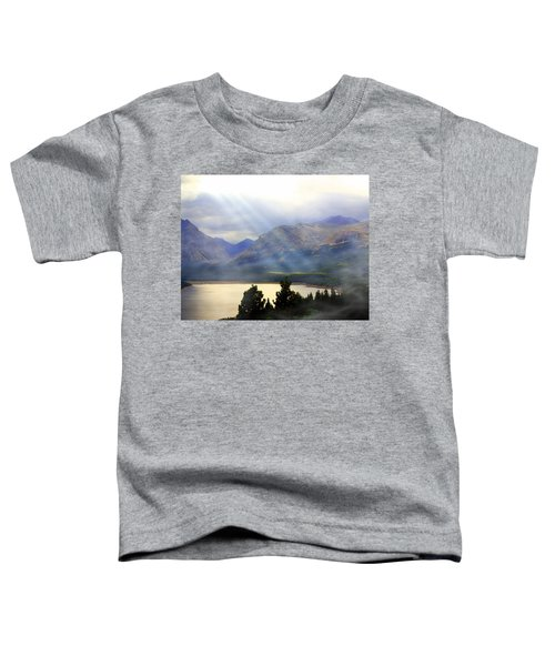 Storms A Coming-lower Two Medicine Lake Toddler T-Shirt