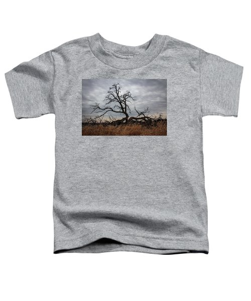 Storms Make Trees Take Deeper Roots  Toddler T-Shirt