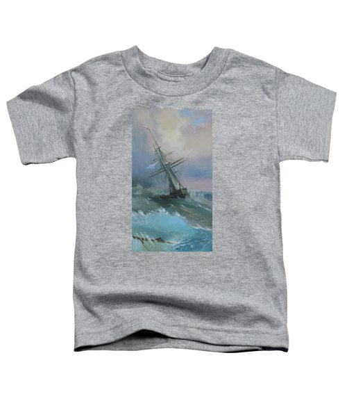 Stormy Sails Toddler T-Shirt