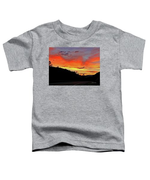 Stormy Sunset Toddler T-Shirt