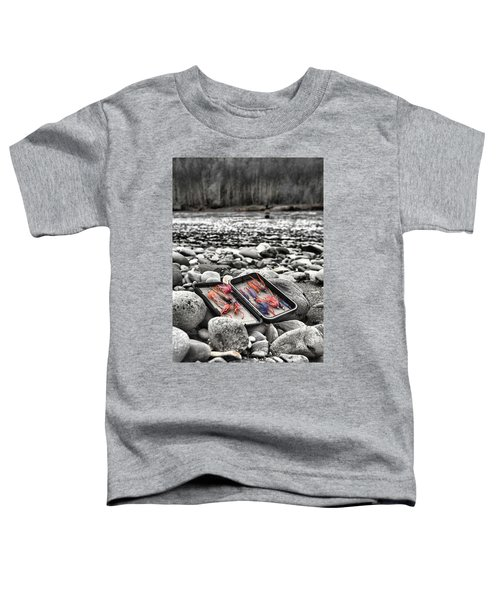 Stream Side Fly Box Toddler T-Shirt