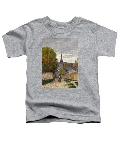 Street In Sainte Adresse Toddler T-Shirt