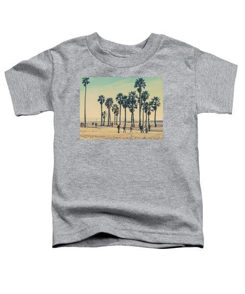 Stroll Down Venice Beach Toddler T-Shirt