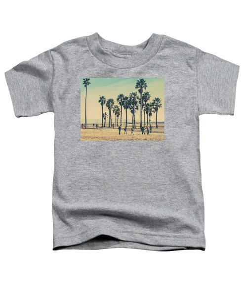 Stroll Down Venice Beach Toddler T-Shirt