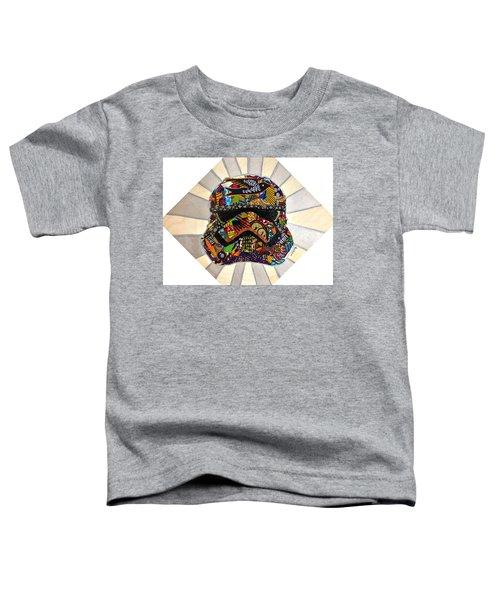Strom Trooper Afrofuturist  Toddler T-Shirt