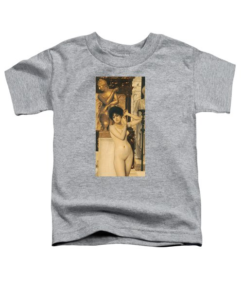 Study For Allegory Of Sculpture Toddler T-Shirt