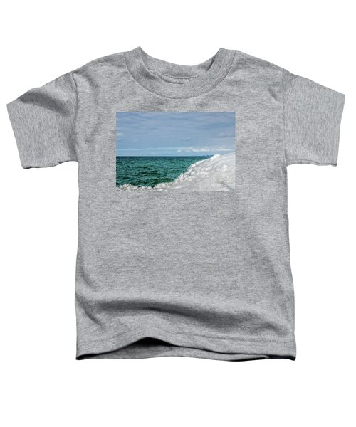 Stunning Turquoise, Green, And Blue Toddler T-Shirt