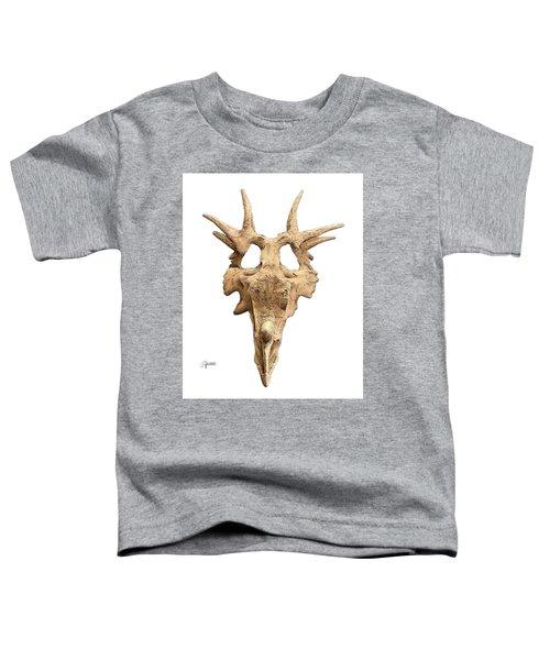 Styracosaur Skull Toddler T-Shirt