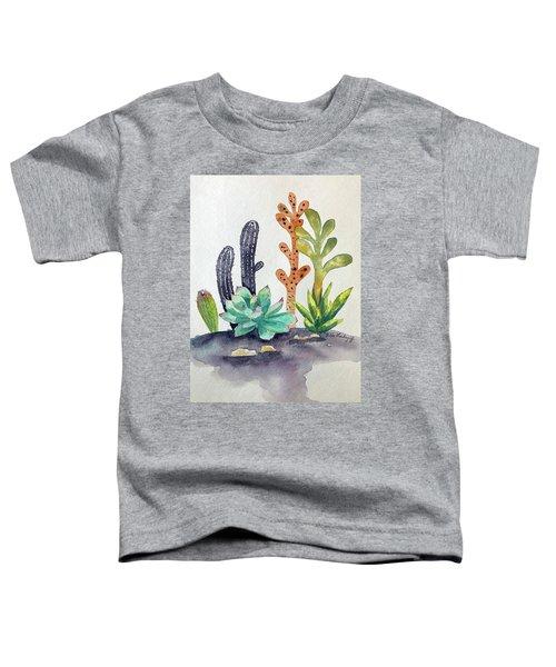 Succulents Desert Toddler T-Shirt