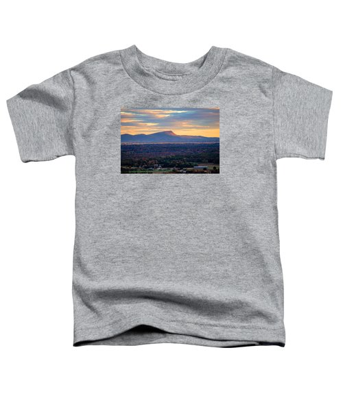 Sugarloaf View, South Deerfield, Ma Toddler T-Shirt