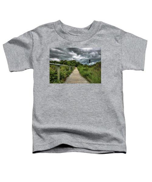 Sullivan's Island Summer Storm Clouds Toddler T-Shirt