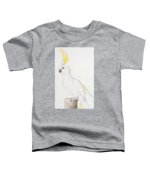 Sulphur Crested Cockatoo Toddler T-Shirt