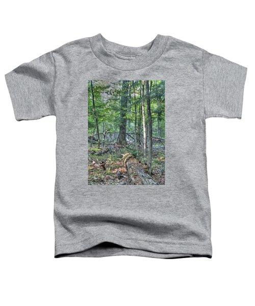 Summer In A Canadian Forest Toddler T-Shirt