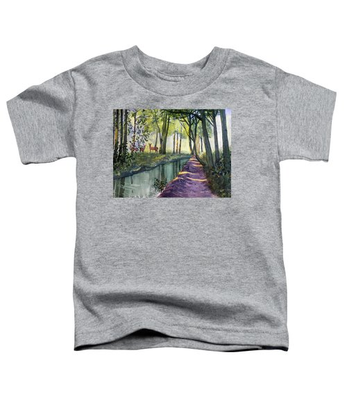 Summer Shade In Lowthorpe Wood Toddler T-Shirt