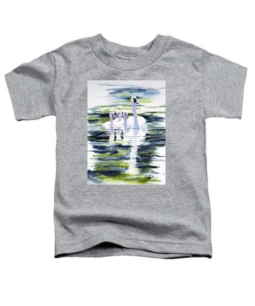 Summer Swans Toddler T-Shirt
