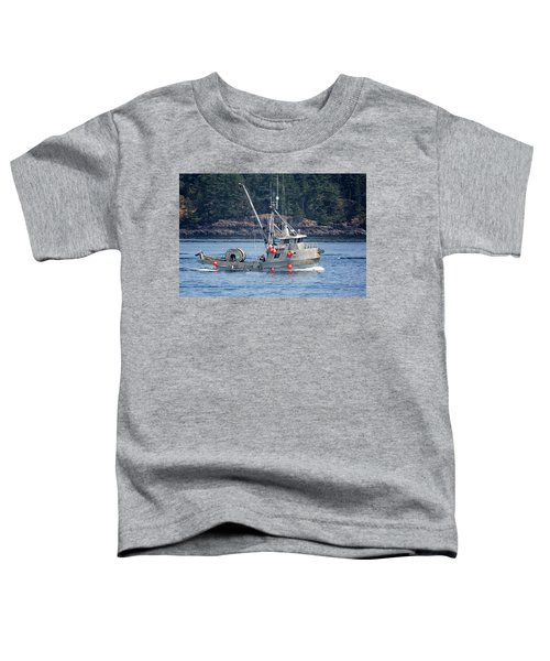 Sun Fisher Off Campbell River Toddler T-Shirt