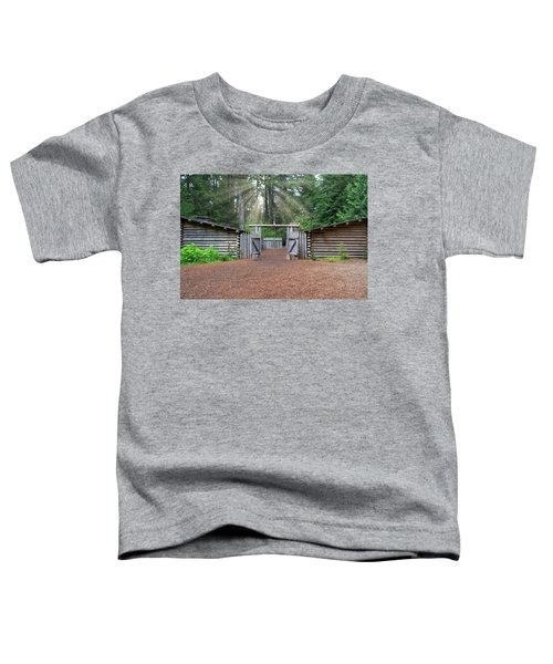 Sun Rays Over Fort Clatsop Toddler T-Shirt