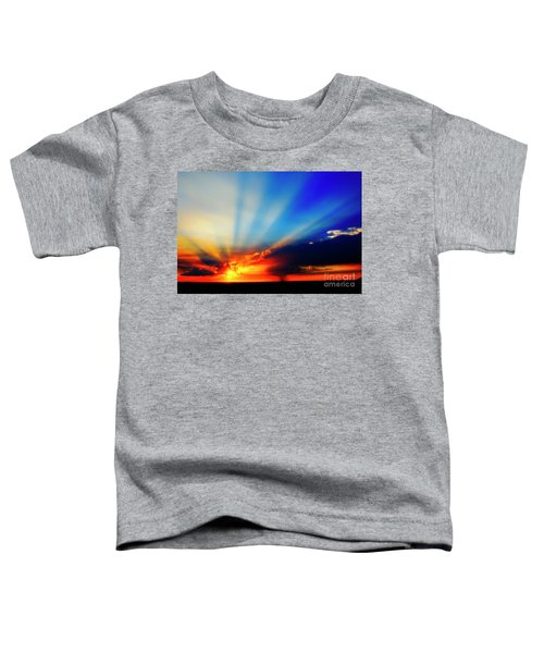 Sun Rays Toddler T-Shirt