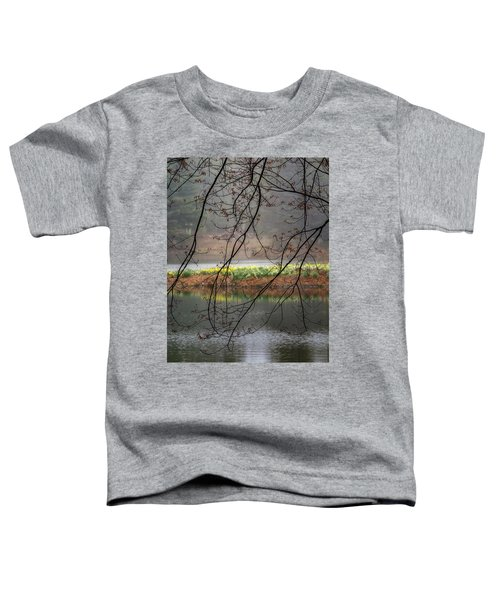 Toddler T-Shirt featuring the photograph Sun Shower by Bill Wakeley
