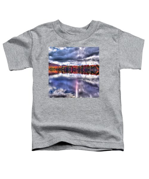 Toddler T-Shirt featuring the photograph Sun Streaks On West Lake by David Patterson