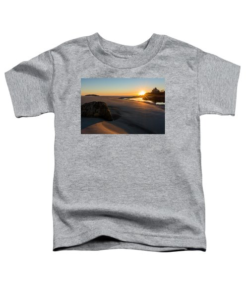 Sun Up Good Harbor Toddler T-Shirt