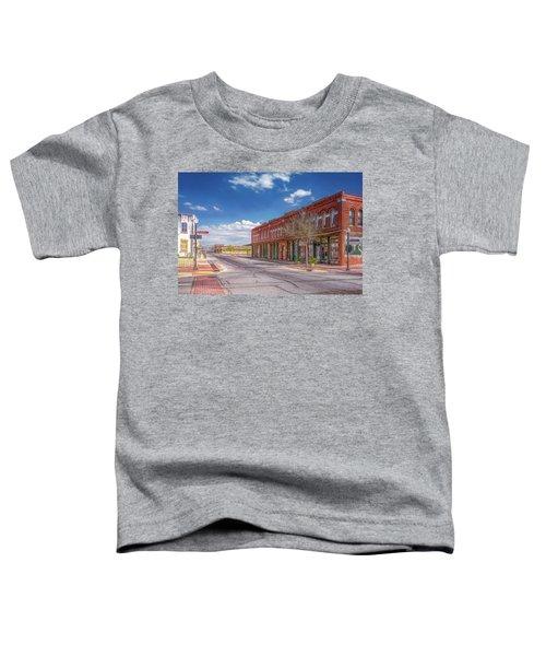 Sunday In Brenham, Texas Toddler T-Shirt