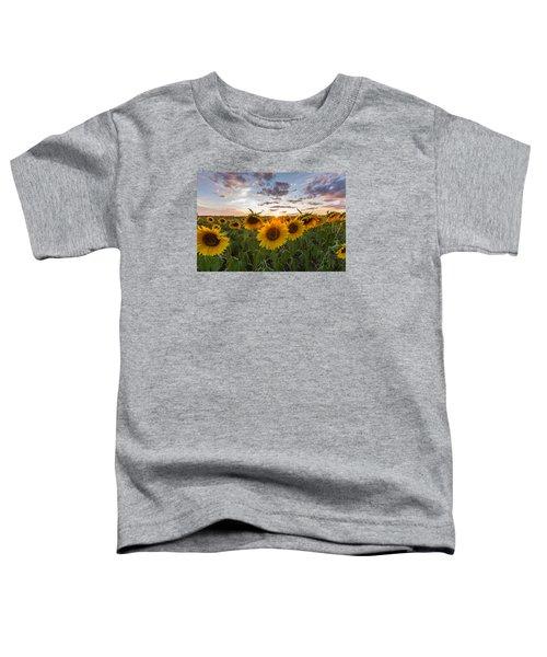 Sunflower Sunset Toddler T-Shirt