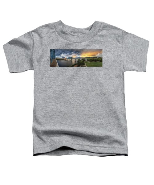 Sunlight And Showers Over Chattanooga Toddler T-Shirt