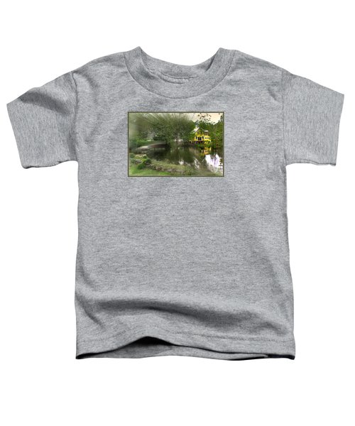 Sunlight Breaks Through On Chocorua Pond Toddler T-Shirt