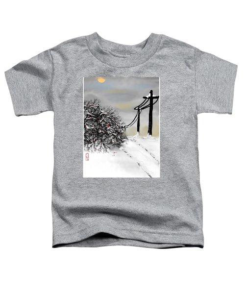 Sunny 28 Below Toddler T-Shirt