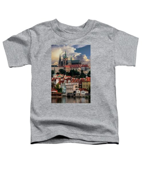 Toddler T-Shirt featuring the photograph Sunny Afternoon In Prague by Jaroslaw Blaminsky