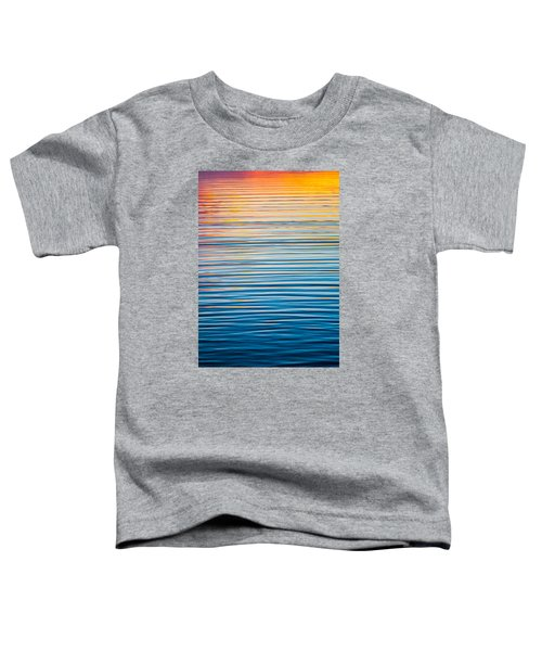 Sunrise Abstract  Toddler T-Shirt