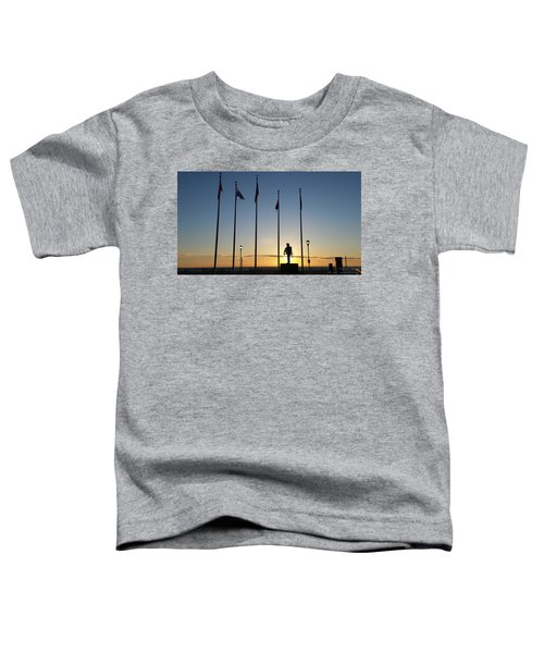 Sunrise At The Firefighters Memorial Toddler T-Shirt