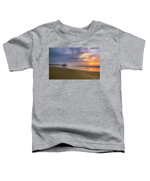 Sunrise At Tybee Island Pier Toddler T-Shirt