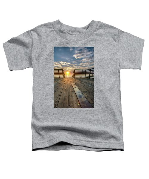 Sunrise Boardwalk Toddler T-Shirt