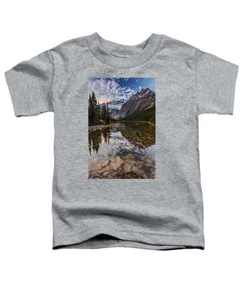Sunrise In The Rocky Mountains Toddler T-Shirt