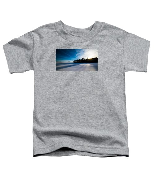 Sunrise In Winter Toddler T-Shirt