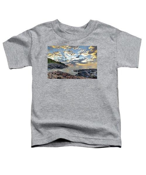 Sunrise On Christmas Cove Toddler T-Shirt