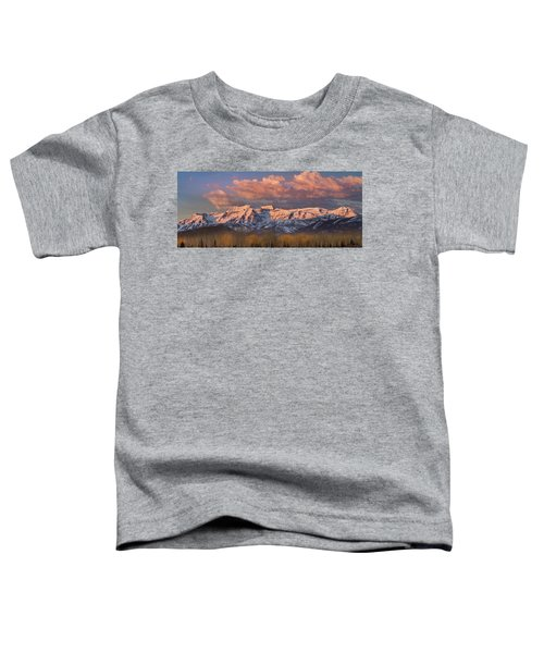 Sunrise On Timpanogos Toddler T-Shirt