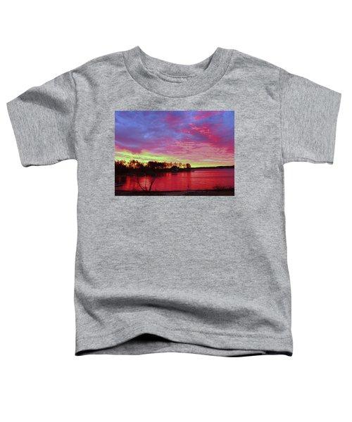 Sunrise Over Lake Murray Toddler T-Shirt