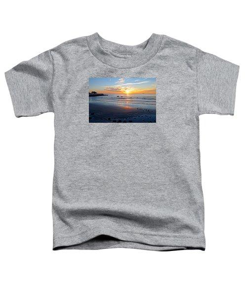 Sunrise Over Red Rock Park Lynn Shore Drive Toddler T-Shirt
