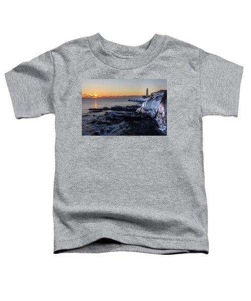 Sunrise Reflection Toddler T-Shirt