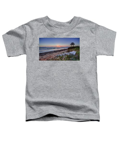 Sunrise Stairs Toddler T-Shirt