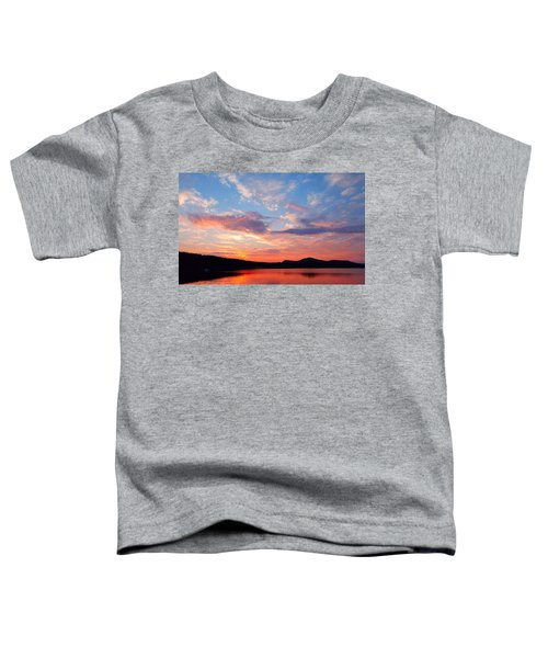 Sunset At Ministers Island Toddler T-Shirt