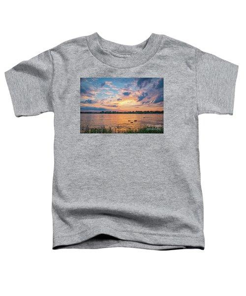 Sunset At Morse Lake Toddler T-Shirt
