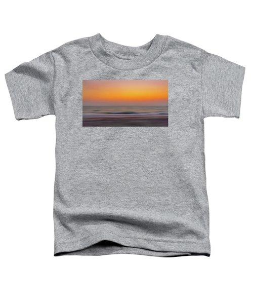 Sunset At The Beach Toddler T-Shirt
