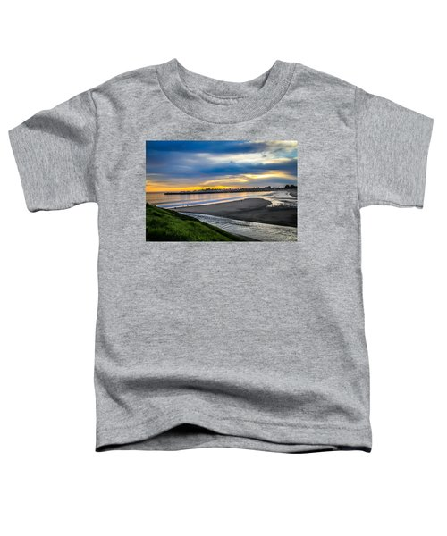 Sunset At The Rivermouth Toddler T-Shirt