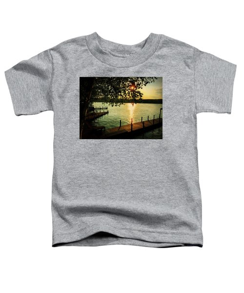 Sunset Bay Toddler T-Shirt